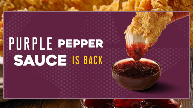 Church's Chicken Brings Back Purple Pepper Sauce