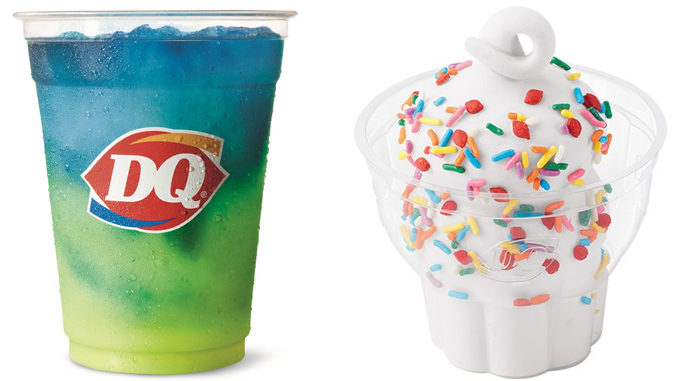 Dairy Queen Adds New Lemonade Twisty Misty Slush And New Sprinkles Sundae