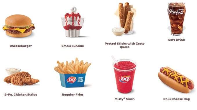 Dairy Queen Expands 2 For $4 Super Snack Mix & Match Menu Options