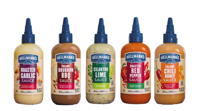 Hellmann's Introduces New Restaurant-Inspired Drizzle Sauces