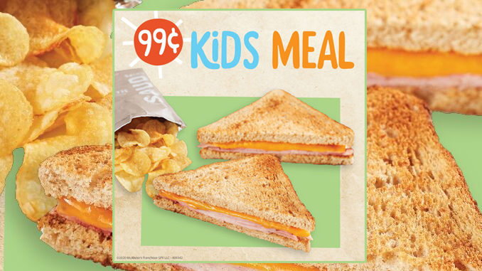 McAlister's Offers 99-Cent Kids Meal With Adult Entree Purchase Through April 30, 2020