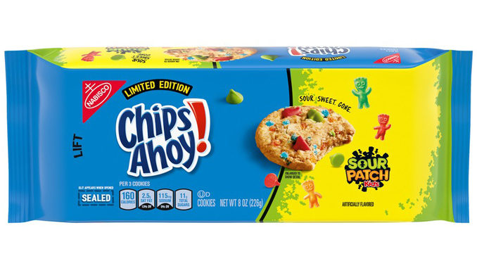 Nabisco Unveils New Chips Ahoy! Sour Patch Kids Limited Edition Cookies
