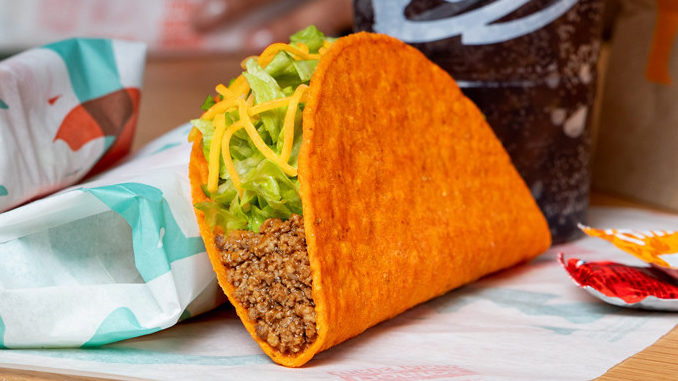 Taco Bell Offers Free Doritos Locos Tacos At The Drive-Thru On April 14, 2020