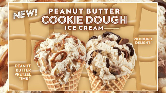 Cold Stone Creamery Introduces New Peanut Butter Cookie Dough Ice Cream