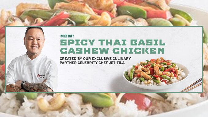 Pei Wei Introduces New Spicy Thai Basil Cashew Chicken