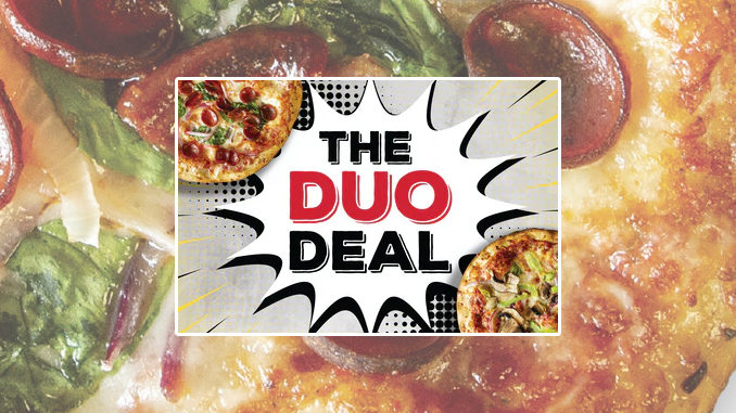 Pieology Offers 2 3-Topping Medium Pierise Pizzas For $14.99 As Part Of New Duo Deal