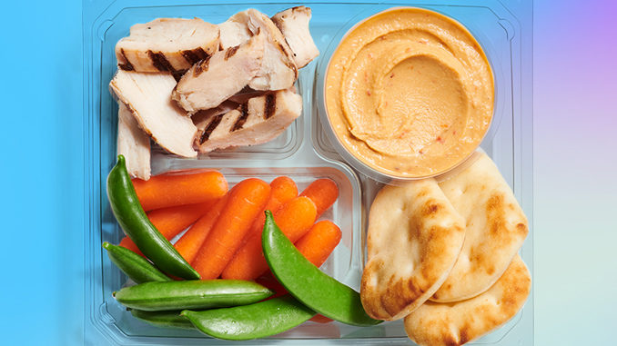 Starbucks Launches New Grilled Chicken And Hummus Protein Box