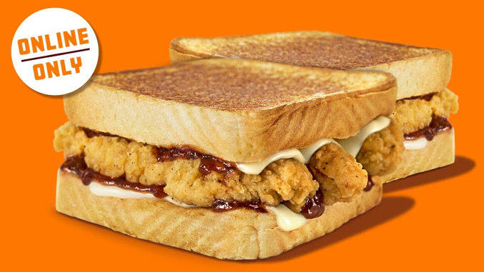 Buy One Honey BBQ Chicken Strip Sandwich Online, Get One Free At Whataburger Through June 28, 2020