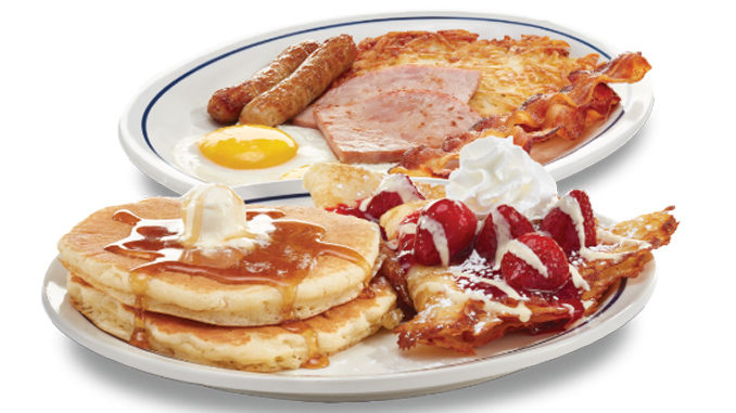 IHOP Introduces New Crepes & Cakes Breakfast
