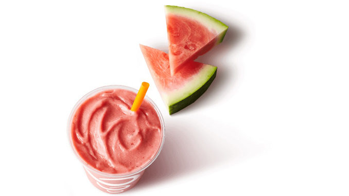 Jamba Welcomes Back Watermelon Breeze Smoothie