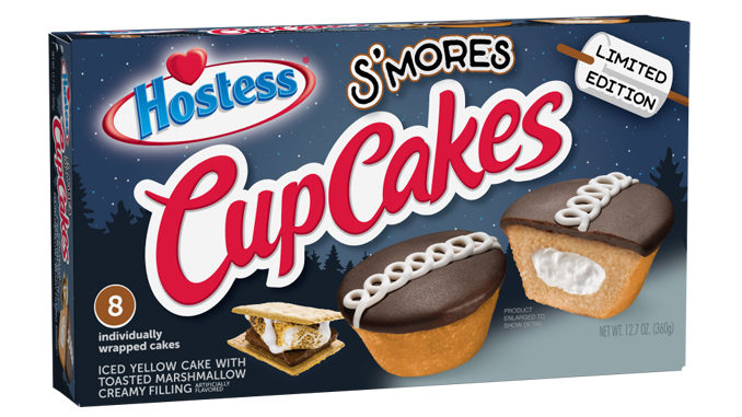 New Hostess S'mores CupCakes Available Exclusively At Walmart Starting July 9, 2020