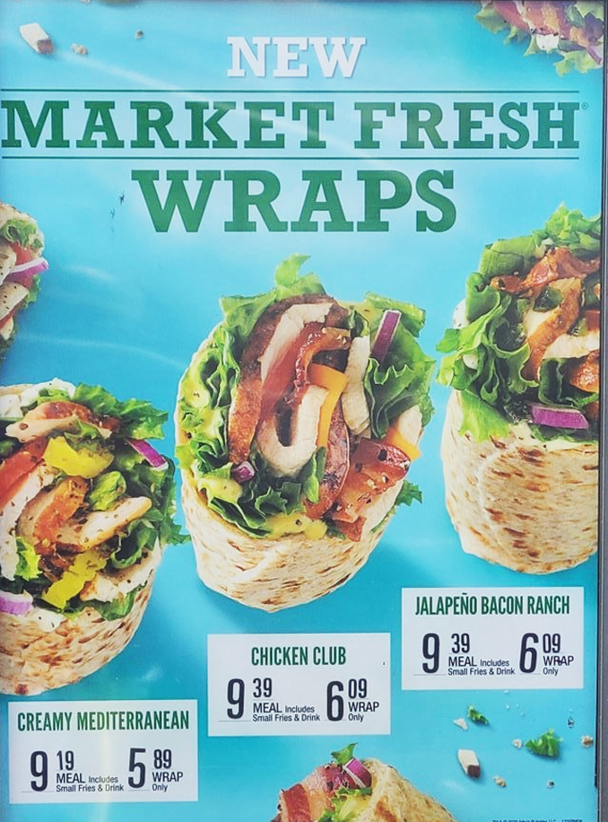 Market Fresh Wraps