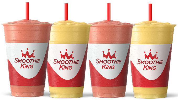 Smoothie King Blends New Hydration Smoothies