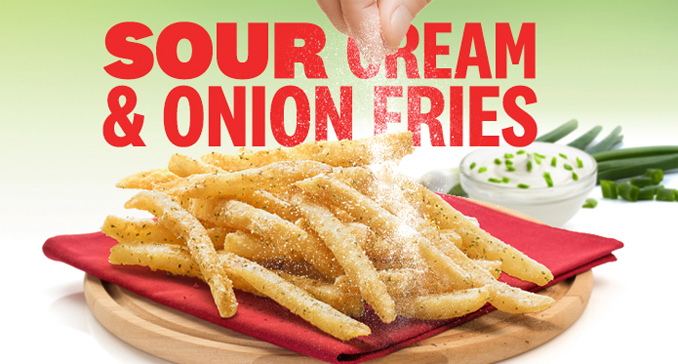 Sour Cream & Onion Fries