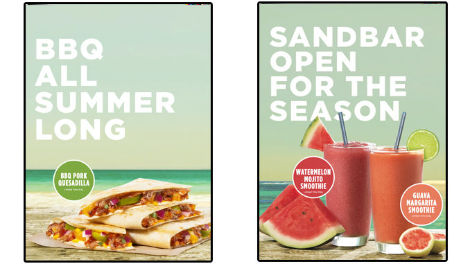 Tropical Smoothie Cafe Adds New BBQ Pork Quesadilla And New Guava Margarita Smoothie As Part Of Summer 2020 Menu