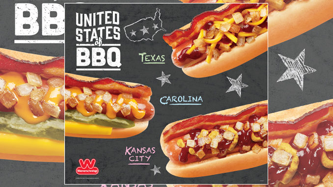 Wienerschnitzel Unveils New United States Of BBQ Dogs Alongside New Southern Lemonades