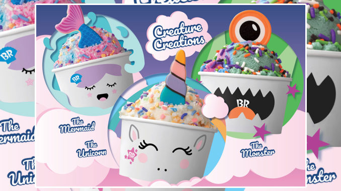 Baskin-Robbins Introduces New Creature Creations
