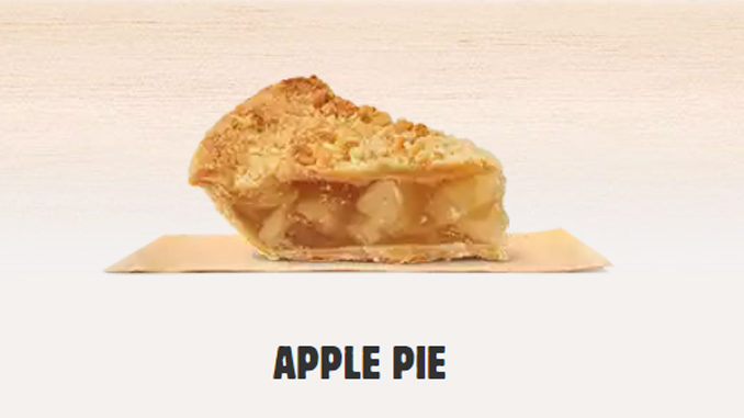 Burger King No Longer Offering Apple Pies