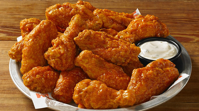 Buy Any 10 Wings, Get 10 Free Boneless Wings At Hooters On July 29, 2020 (Dine-In)