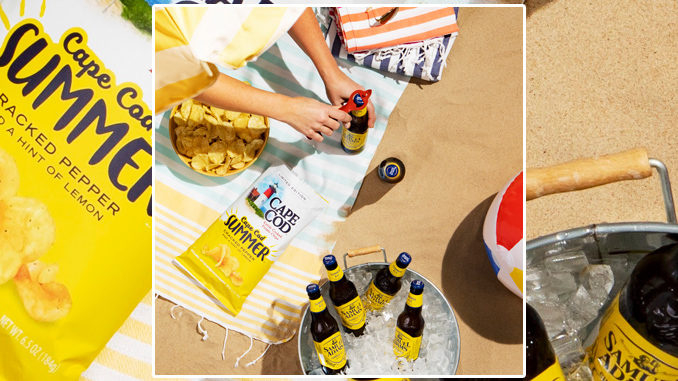 Cape Cod Welcomes Back Summer Potato Chips As Part Of Samuel Adams Summer Ale Pairing