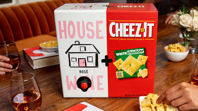 Cheez-It And House Wine Reveal New Limited-Edition Pairing For 2020
