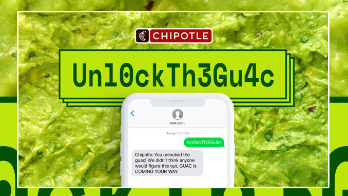 Free Guac For All Chipotle Rewards Members On July 31, 2020