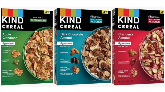 KIND Debuts First-Ever Cereal Exclusively At Walmart