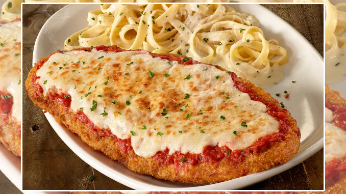 Olive Garden Adds New Giant Chicken Parmigiana