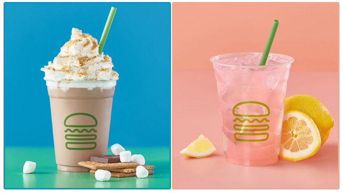 Shake Shack Adds New S'mores Shake And New Pink Lemonade