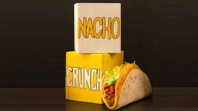 Taco Bell Welcomes Back Nacho Crunch $1 Double Stacked Taco