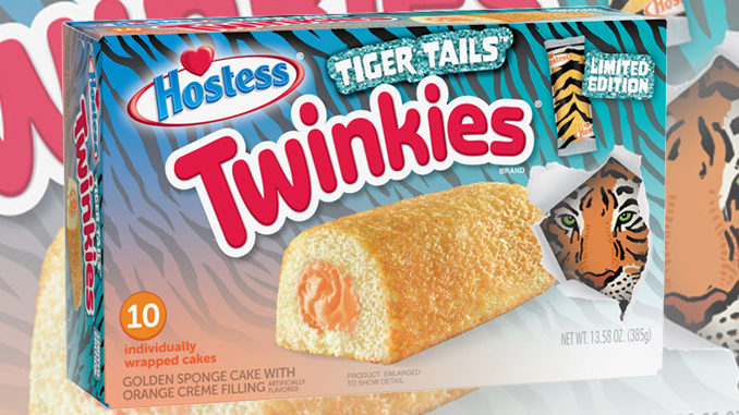 Walmart Unveils New Tiger Tails Twinkies Filled With Orange Crème