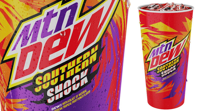 Bojangles Pours New Mountain Dew Southern Shock
