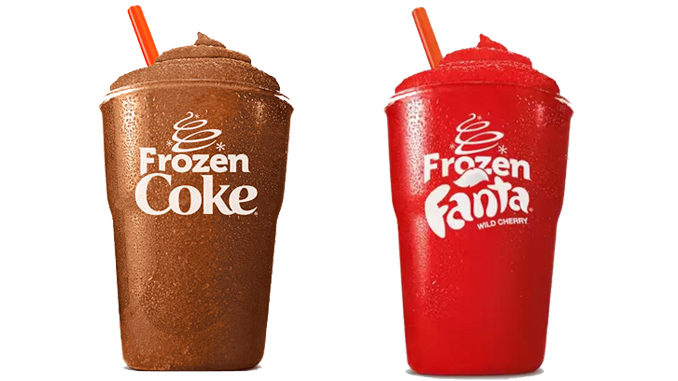 Burger King Offers $1 Frozen Coke And Frozen Fanta Deal
