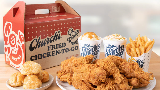 Church's Chicken Introduces New 'Go Box' As A Nod To Brand's Roots