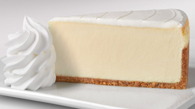 Free Cheesecake Slice From The Cheesecake Factory Via DoorDash On Orders $12 Or More Through August 9, 2020 (DashPass Required)