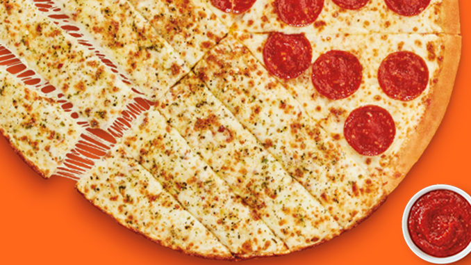Little Caesars Launches New Slices-N-Stix Pizza Nationwide