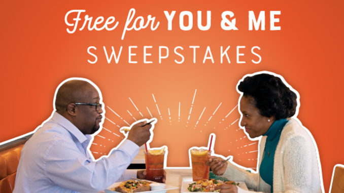 McAlister's Launches 'Free for You and Me Sweepstakes'