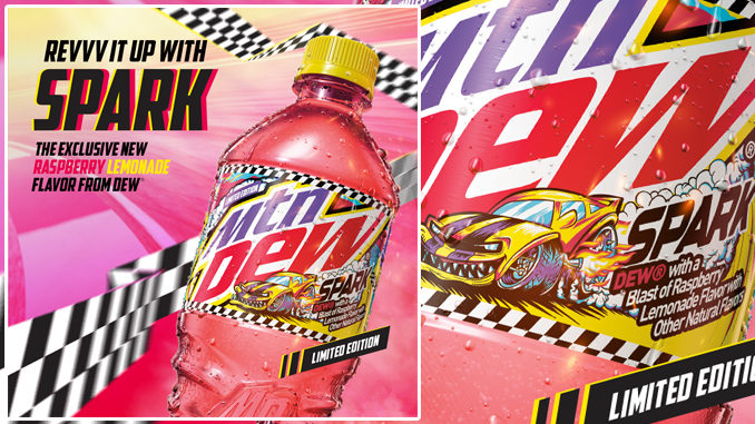 New Mountain Dew Spark Debuts Exclusively At Speedway Stores