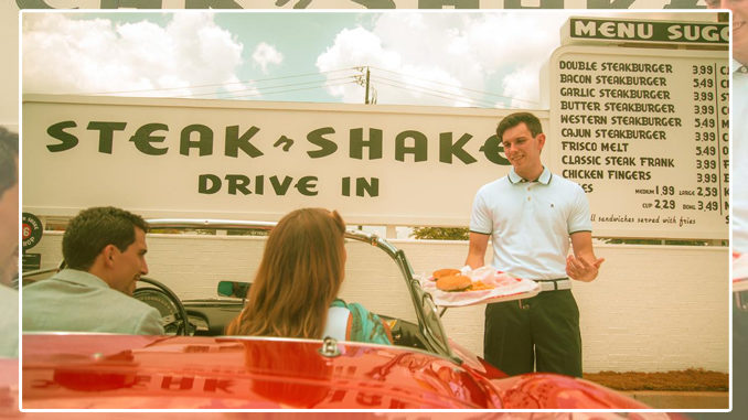 Steak 'n Shake Revives Carhop Service, Welcomes Back Cajun Steakburger