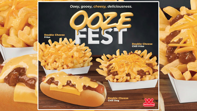 Wienerschnitzel Debuts New Cheese Sauce As Part Of New Cheesy Ooze Fest Event