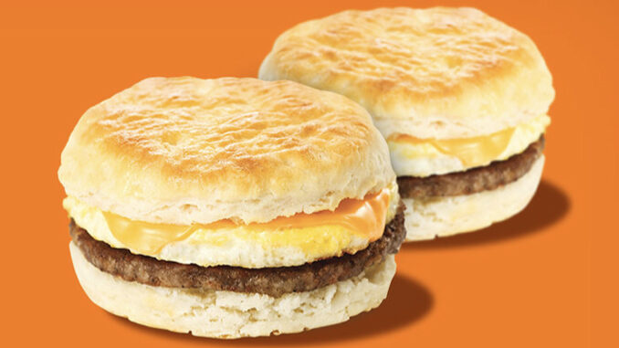 Buy 1 Biscuit Sandwich Online, Get 1 Free At Whataburger Through September 27, 2020