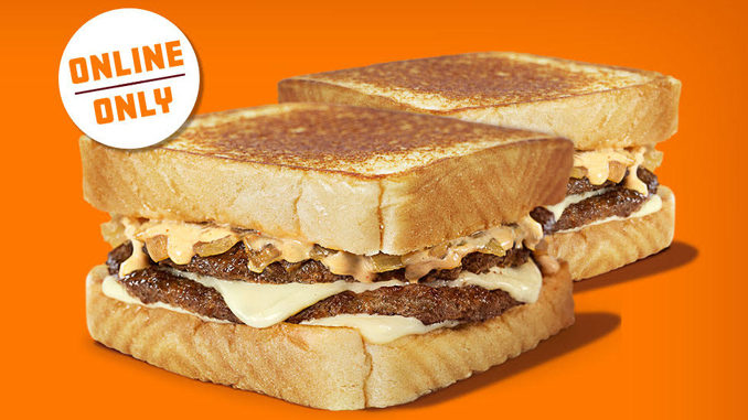 Buy 1 Patty Melt Online, Get 1 Free At Whataburger Through September 20, 2020