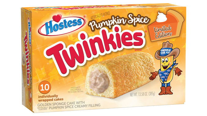 Hostess Welcomes Back Pumpkin Spice Twinkies And Iced Pumpkin CupCakes For Fall 2020