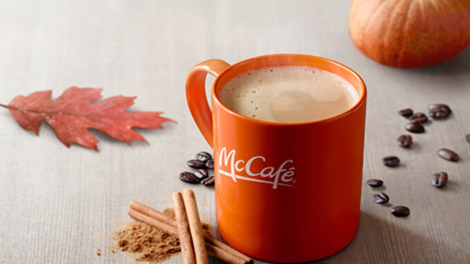 McDonald's Welcomes Back The Pumpkin Spice Latte In Select Markets