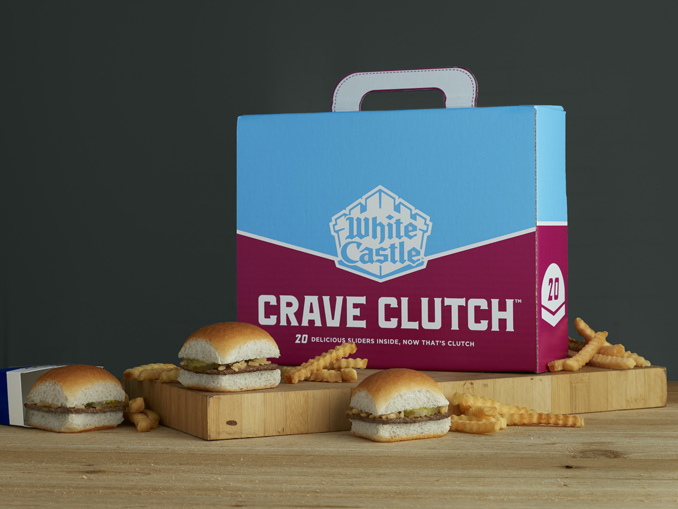White Castle Adds New 20 Slider Crave Clutch Carryout Box Chew Boom