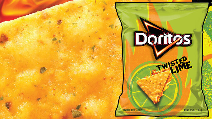 Doritos Introduces New Twisted Lime Tortilla Chips