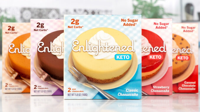 Enlightened Introduces New Keto-Friendly Cheesecakes And Dough Bites