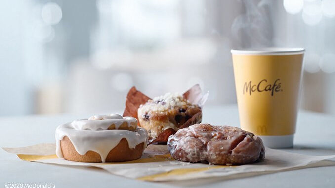 McDonald's Reveals New Apple Fritter, Blueberry Muffin And Cinnamon Roll