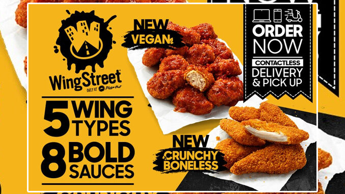 Pizza Hut Offers New Plant-Based Vegan Wings In Australia