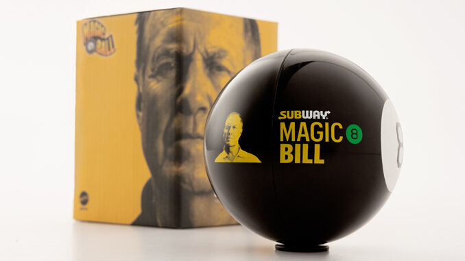 Subway Teams Up With Coach Bill Belichick For New 'Magic 8 Bill' Collectable